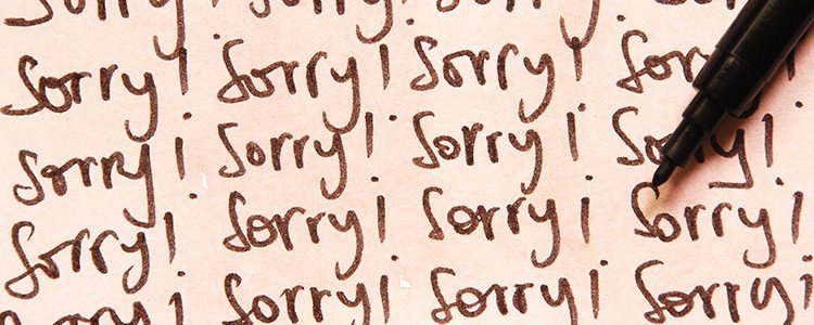 Conversiekiller zegt sorry